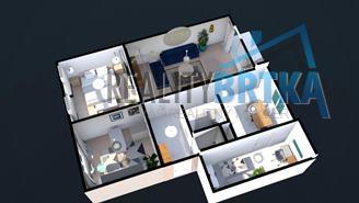 Predaj 3 izbový byt, Nitra - Chrenová, Kremnická ul.