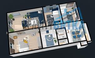 Predaj 4 izbový byt Nitra - Klokočina